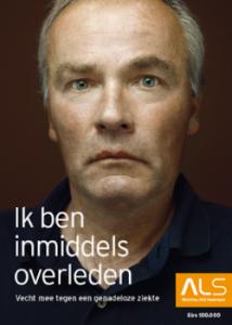 Theodoor Doyer - campagne Stichting ALS Nederland