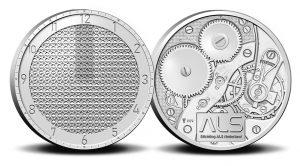 voor en keerzijde speciale munt