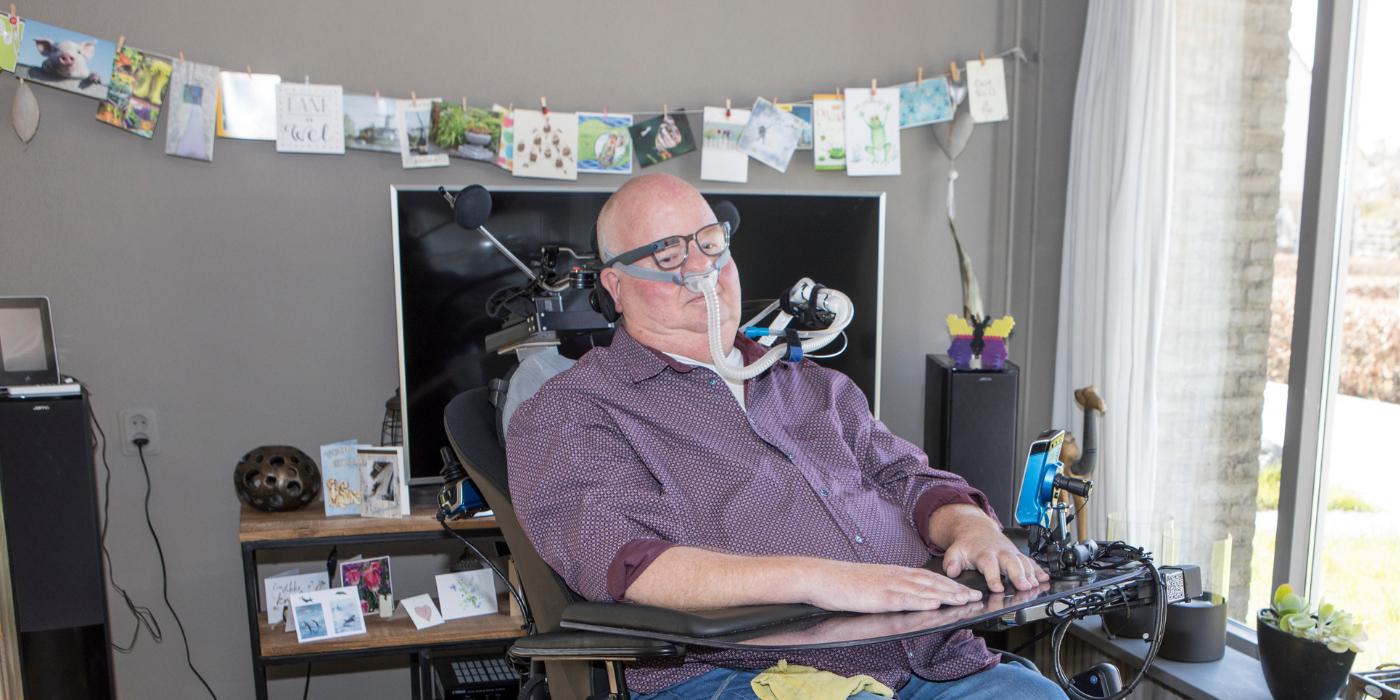 portretfoto PSMA-patiënt Edmar van den Brandt