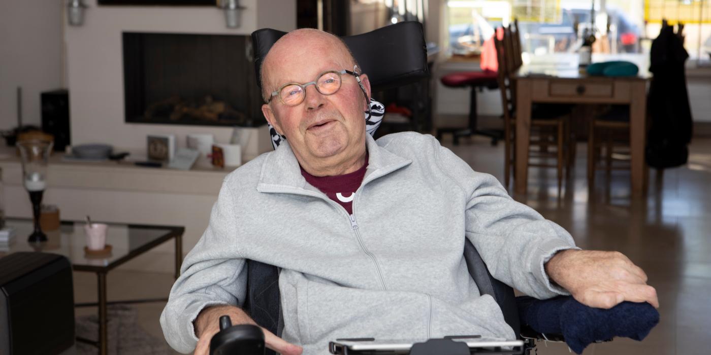 Interview ALS-patient Jan van de Putte