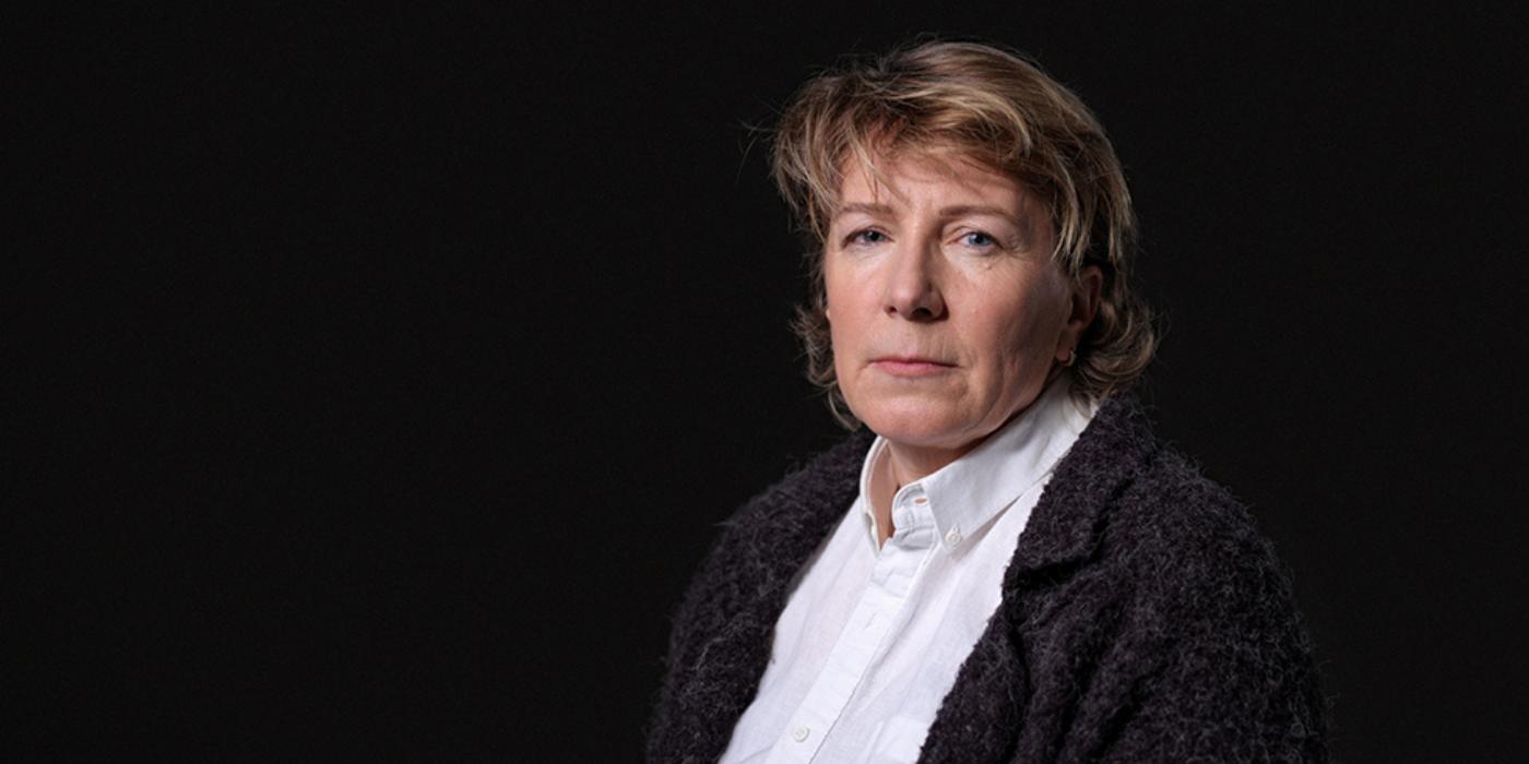 Annemieke Straver nam als nabestaande deel aan de campagne 'Geen tijd te verliezen'