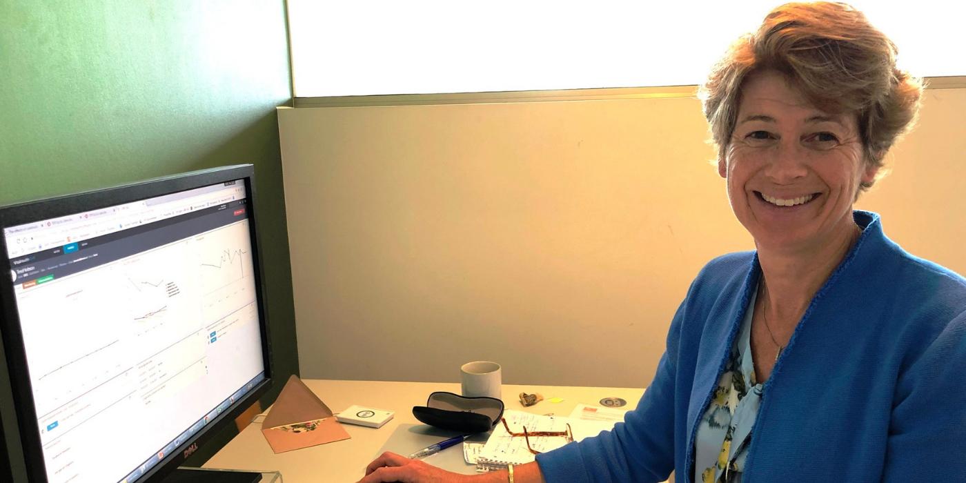 Onderzoeker ALS Thuismeten Anita Beelen
