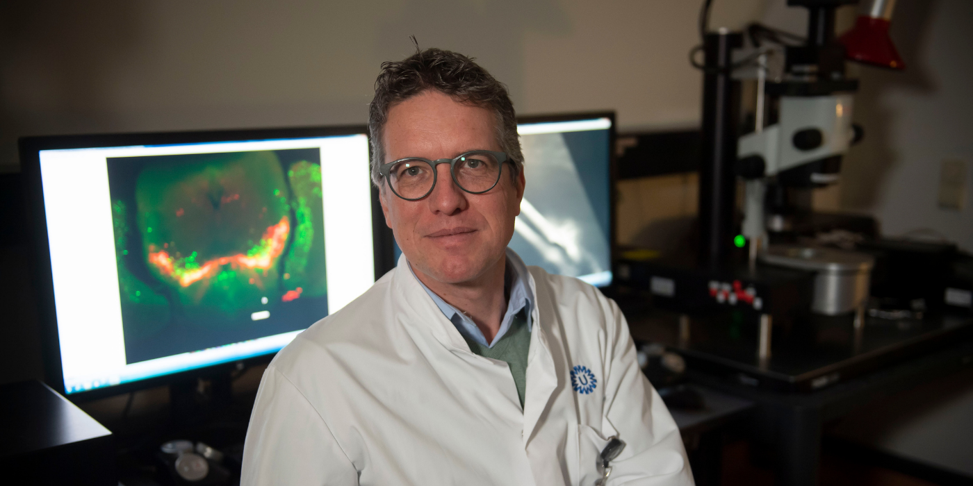 Onderzoeker en neuroloog Jeroen Pasterkamp