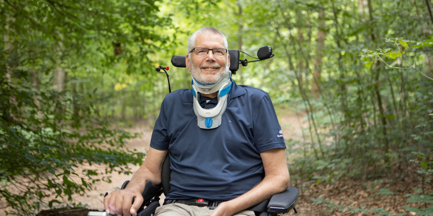 Interview ALS-patiënt Klaas van Kieft
